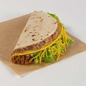 Double Decker® Taco is listed (or ranked) 25 on the list The Best Things to Eat at Taco Bell