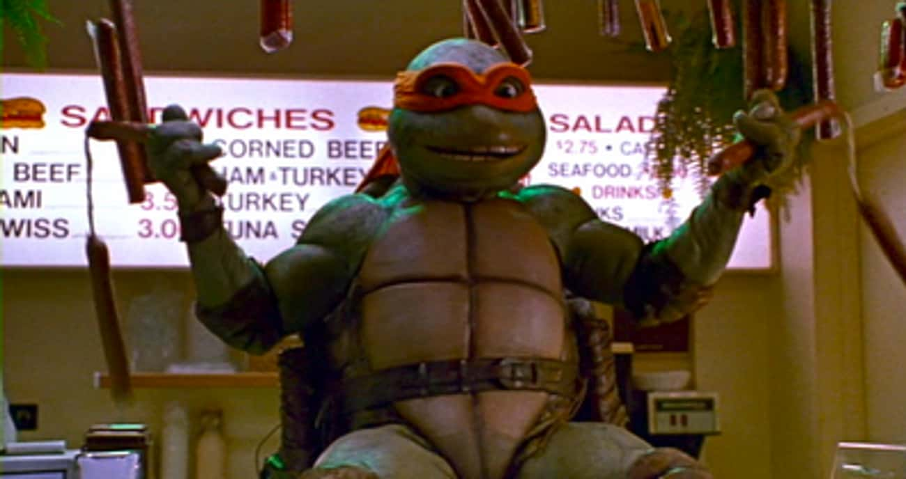The Use Of Sausage Weapons In  is listed (or ranked) 4 on the list 12 Times Teenage Mutant Ninja Turtles Was Deemed Too Scandalous For Children