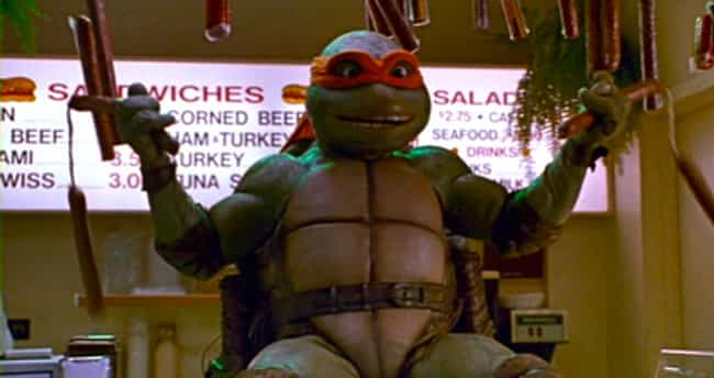 The Use Of Sausage Weapons In ... is listed (or ranked) 4 on the list 12 Times Teenage Mutant Ninja Turtles Was Deemed Too Scandalous For Children