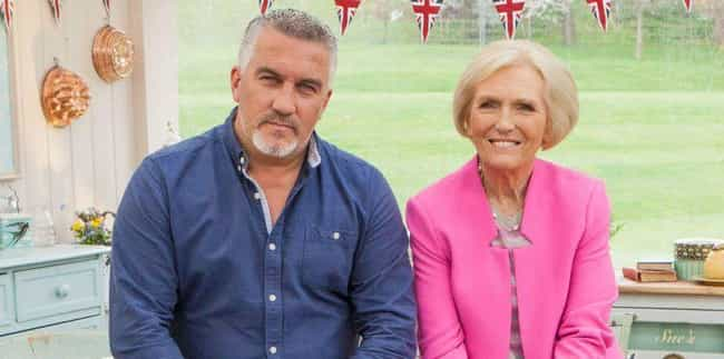 Mary Berry And Paul Holl... is listed (or ranked) 2 on the list Behind-The-Scenes Stories From 'The Great British Bake Off' To Make You Love It Even More