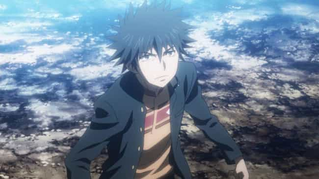 Touma Kamijou — A Certain Magi... is listed (or ranked) 4 on the list The 14 Most Unlucky Characters In Anime