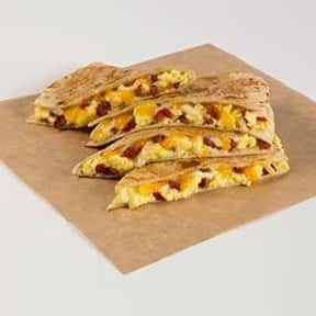 Breakfast Quesadilla is listed (or ranked) 10 on the list The Best Taco Bell Breakfast Items