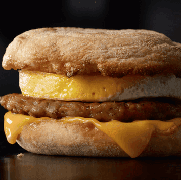 Sausage McMuffin with Egg on Random Best Things To Eat For Breakfast At McDonald's