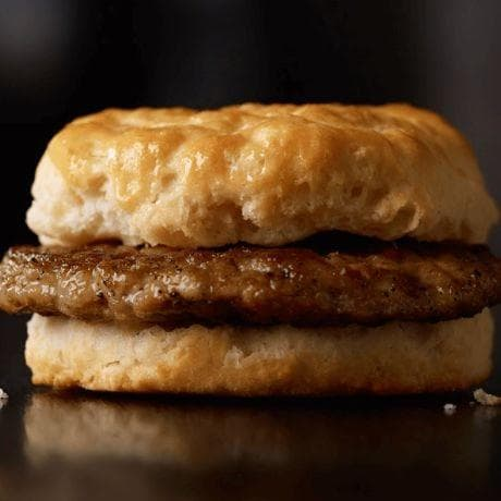 Sausage Biscuit on Random Best Things To Eat For Breakfast At McDonald's