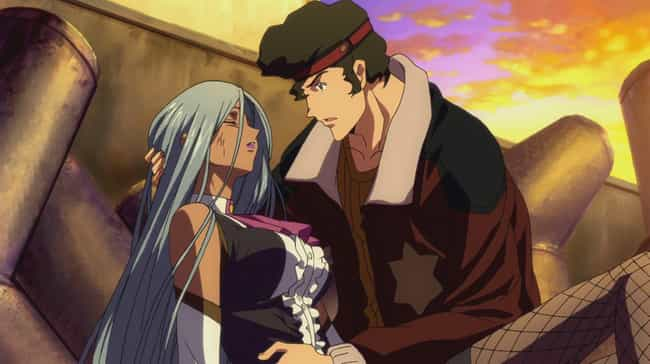 Kaname Ohgi & Villetta Nu — Co... is listed (or ranked) 2 on the list 13 Times Anime Enemies Fell Deeply In Love