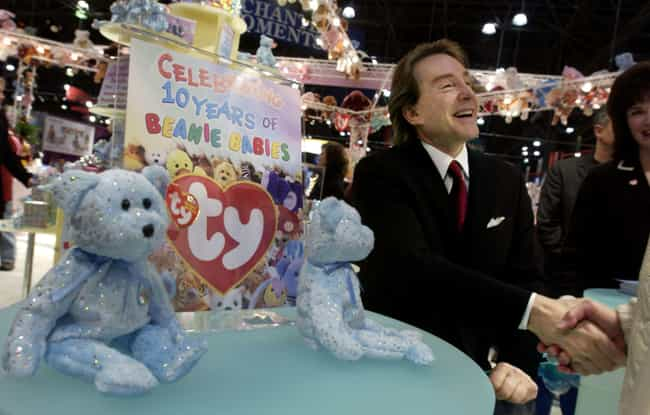 Warner Often Dated The Same Wo... is listed (or ranked) 1 on the list The Surprisingly Depressing Life Of Ty Warner - The Man Who Invented Beanie Babies