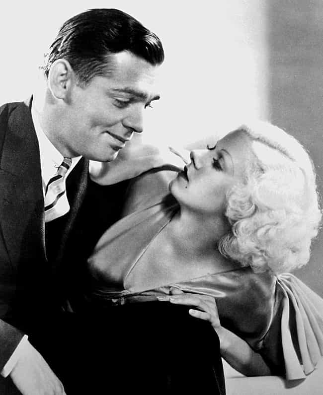 Clark Gable Said Kissing... is listed (or ranked) 2 on the list The Original Blonde Bombshell Dyed Her Hair With Actual Bleach, And It Likely Ended Up Killing Her