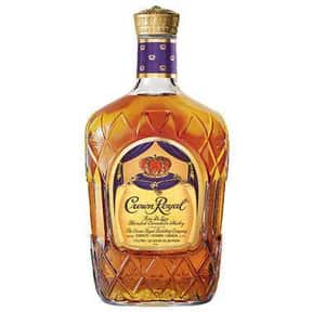 Crown Royal is listed (or ranked) 3 on the list What People Are Getting Drunk Off Of In Each State