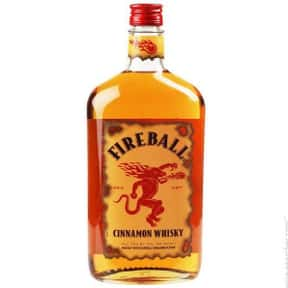 Fireball is listed (or ranked) 5 on the list What People Are Getting Drunk Off Of In Each State