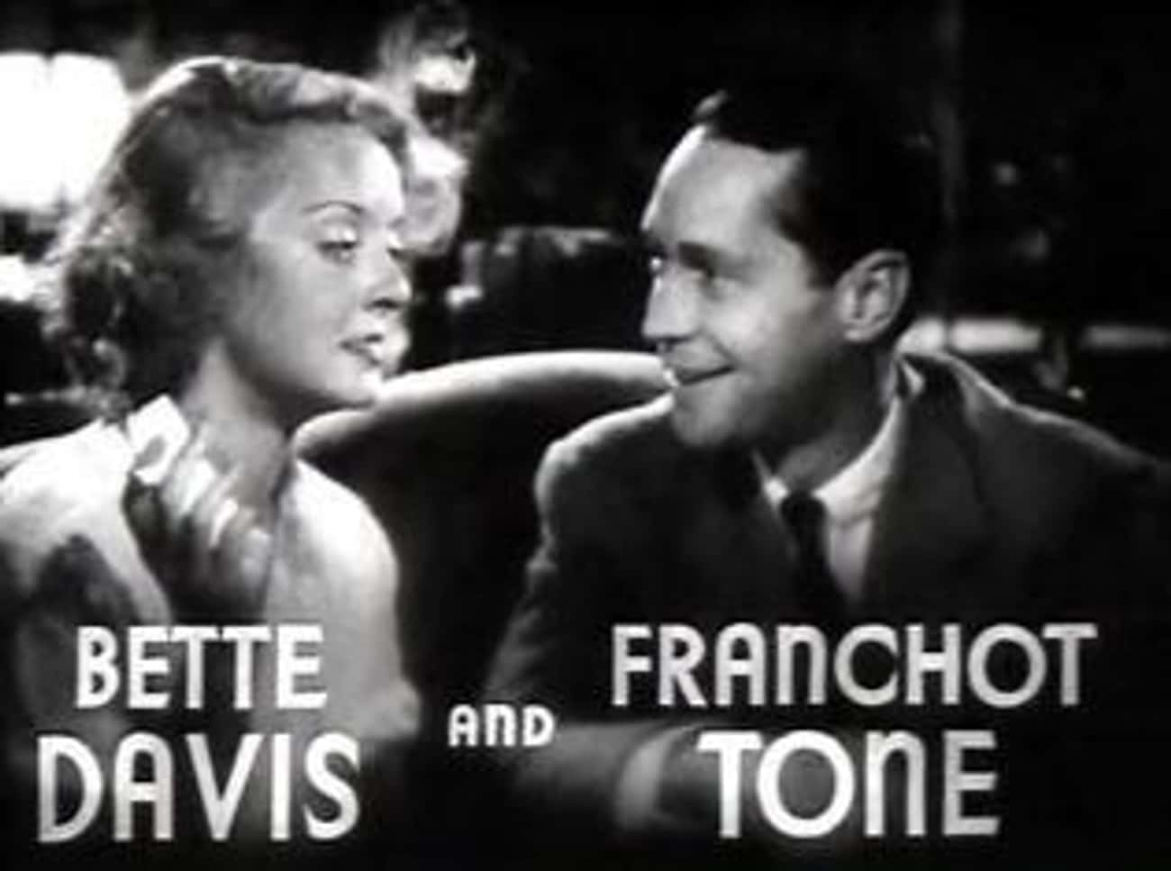 Their Feud Began In Earnest Over Crawford's Romance With Franchot Tone