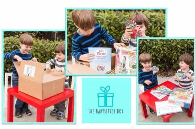 The Babysitter's Box is listed (or ranked) 3 on the list The Best Subscription Boxes for Fathers