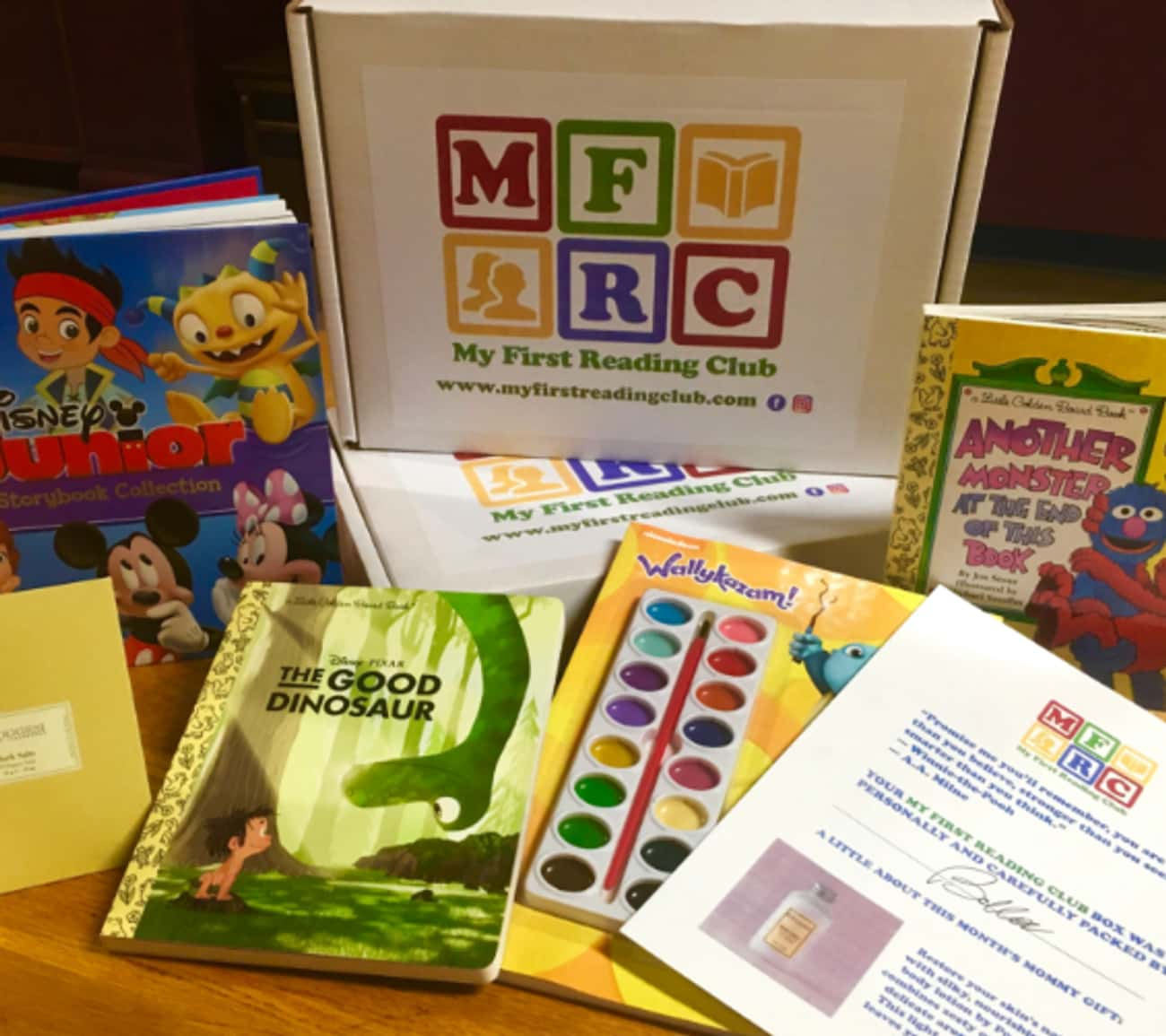 My First Reading Club is listed (or ranked) 2 on the list The Best Subscription Boxes for Fathers