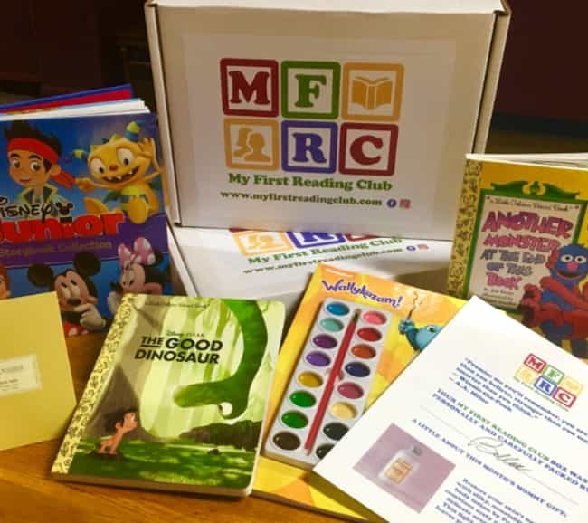 My First Reading Club is listed (or ranked) 1 on the list The Best Subscription Boxes for Fathers