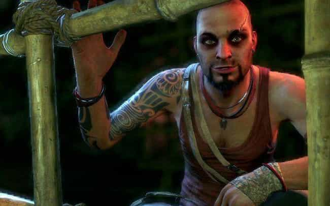 Vaas (Far Cry 3) is listed (or ranked) 3 on the list The 11 Wildest Psychos In Video Games