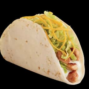 Grilled Chicken Soft Taco is listed (or ranked) 1 on the list The Best Things To Eat At Del Taco