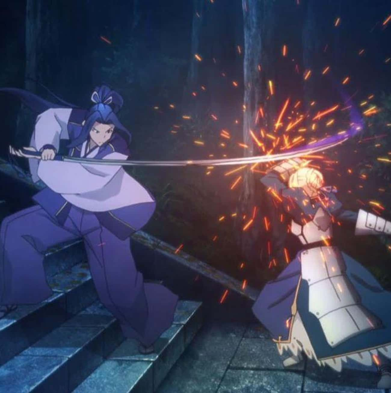 Saber Vs. Assassin - 'Fate/Stay Night: Unlimited Blade Works'
