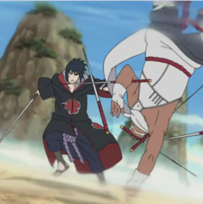 Sasuke Vs. Killer Bee - ... is listed (or ranked) 3 on the list The Best Anime Sword Fights Of All Time