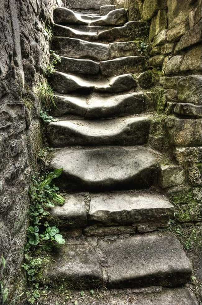 Timeworn Stairs is listed (or ranked) 1 on the list Jaw-Dropping Pictures Of Things Being Worn Down Over Time