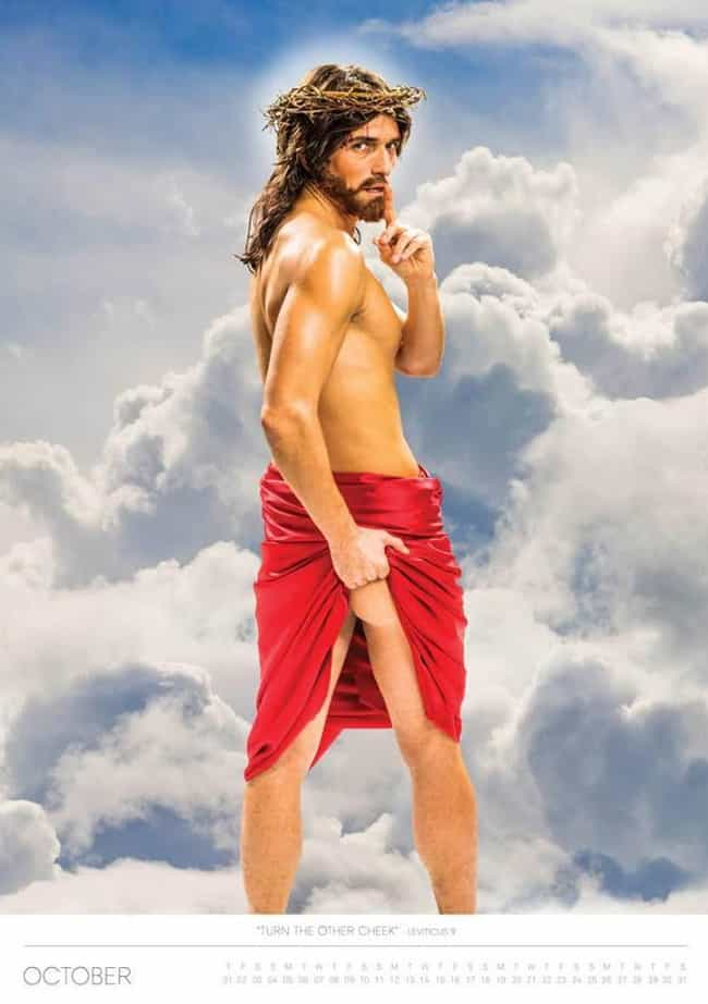 Cheeks Be With You is listed (or ranked) 3 on the list Weirdly Attractive Pictures Of Jesus