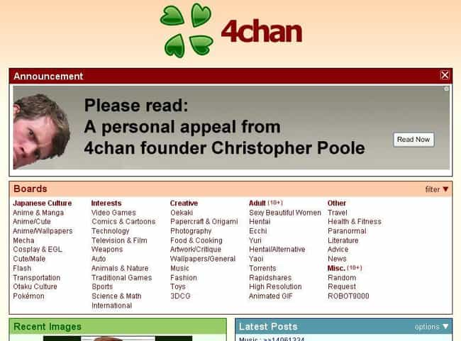 The /N/ Board Was Created In 2... is listed (or ranked) 3 on the list The Renegade History Of 4chan, From Hentai To The Alt-Right