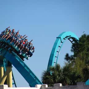 Kraken is listed (or ranked) 10 on the list The Worst Amusement Park Rides To Get Stuck On