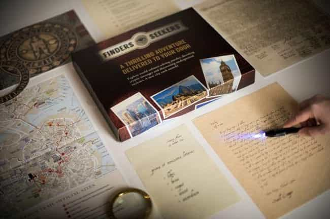Finders Seekers Mysteries is listed (or ranked) 1 on the list The Best Mystery Subscription Boxes