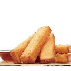 French Toast Sticks is listed (or ranked) 2 on the list The Best Things To Eat For Breakfast At Burger King