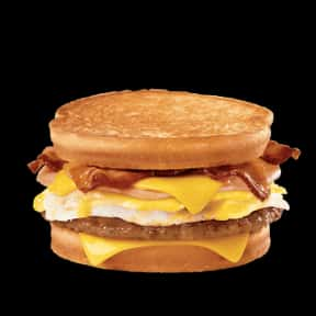 Loaded Breakfast Sandwich is listed (or ranked) 7 on the list The Best Things To Eat For Breakfast At Jack in the Box