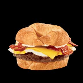 Brunch Burger is listed (or ranked) 13 on the list The Best Things To Eat For Breakfast At Jack in the Box