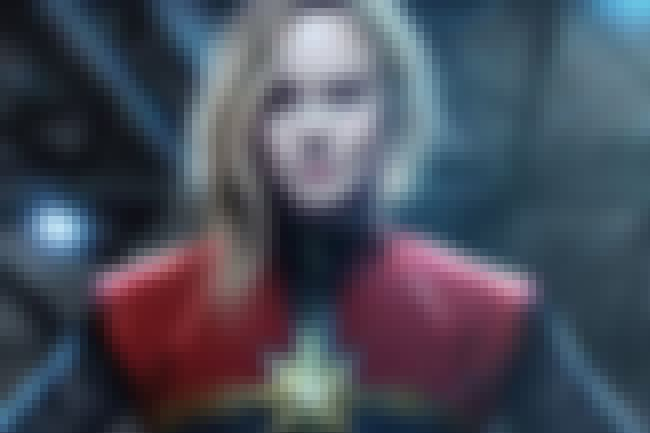 Captain Marvel Shows Up is listed (or ranked) 1 on the list Predictions About What Will Happen In Avengers: Infinity War Pt 2