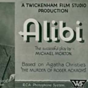 Alibi is listed (or ranked) 21 on the list The Best Movies Based on Agatha Christie Stories