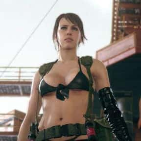 Quiet is listed (or ranked) 25 on the list The Hottest Video Game Vixens of All Time