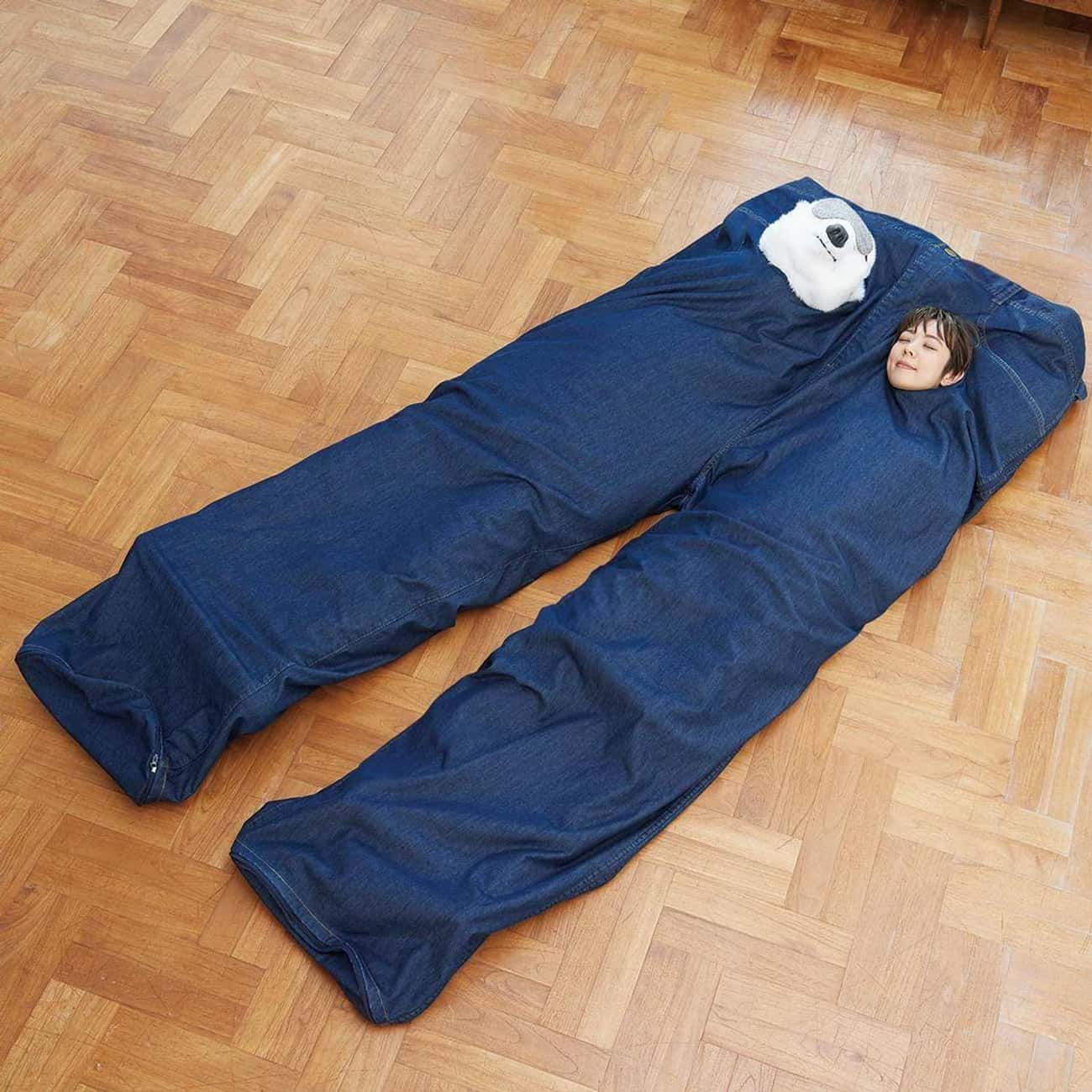 You Got Good Jeans is listed (or ranked) 4 on the list Japanese Sleeping Bags Will Confuse And Comfort You At The Same Time