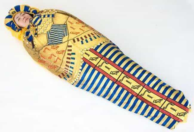 King Tut Is The Ruler Of... is listed (or ranked) 2 on the list Japanese Sleeping Bags Will Confuse And Comfort You At The Same Time