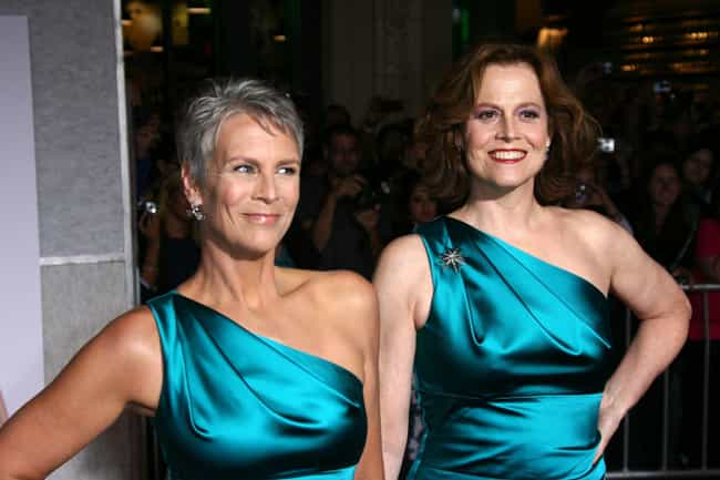 She's Best Buds With Sigourney... is listed (or ranked) 4 on the list Delightful Things You Didn't Know About Jamie Lee Curtis