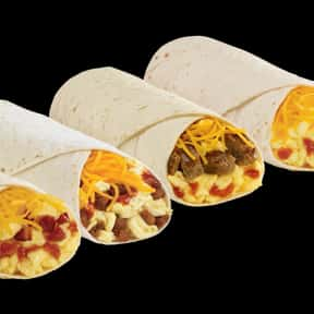 Breakfast Burritos is listed (or ranked) 1 on the list The Best Things To Eat For Breakfast At Del Taco