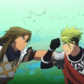 Achilles Vs. Chiron (Fate/Apoc is listed (or ranked) 12 on the list The 25+ Best Anime Hand to Hand Fights, Ranked