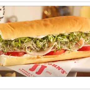 Turkey Tom is listed (or ranked) 17 on the list The Best Things To Eat At Jimmy John's