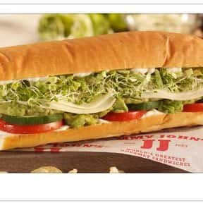 Vegetarian is listed (or ranked) 12 on the list The Best Things To Eat At Jimmy John's