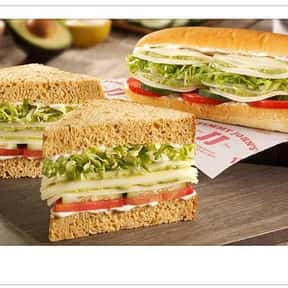 Gourmet Veggie Club is listed (or ranked) 14 on the list The Best Things To Eat At Jimmy John's