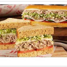 Club Tuna is listed (or ranked) 9 on the list The Best Things To Eat At Jimmy John's