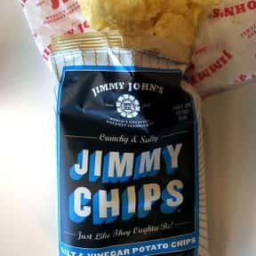 Salt & Vinegar Jimmy Chips is listed (or ranked) 3 on the list The Best Things To Eat At Jimmy John's