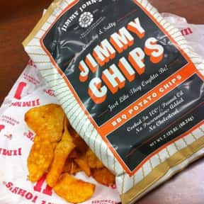 BBQ Jimmy Chips is listed (or ranked) 5 on the list The Best Things To Eat At Jimmy John's