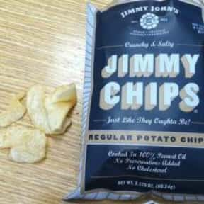 Regular Jimmy Chips is listed (or ranked) 7 on the list The Best Things To Eat At Jimmy John's