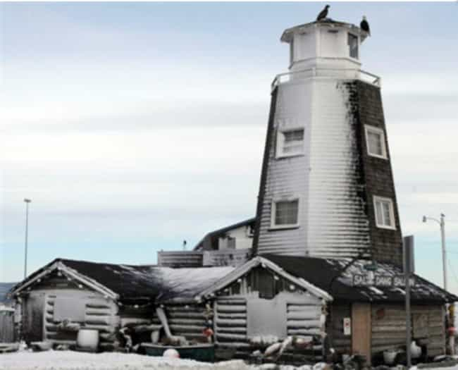 Alaska - Salty Dawg Salo... is listed (or ranked) 2 on the list The Most Historic Bar In Every US State