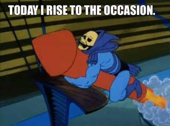 Having A Blast is listed (or ranked) 3 on the list Turns Out Skeletor Is The Best Therapist On The Internet