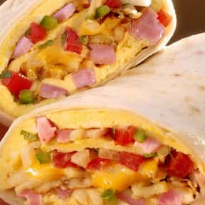 Breakfast Burrito w/Ham is listed (or ranked) 5 on the list The Best Things To Eat For Breakfast At Farmer Boys