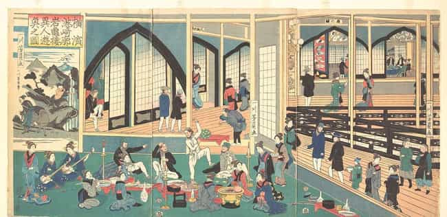 The Government Monitored The Y... is listed (or ranked) 2 on the list Japanese Sex Workers In Edo-Era Japan Were Considered To Be The Ideal Types Of Women
