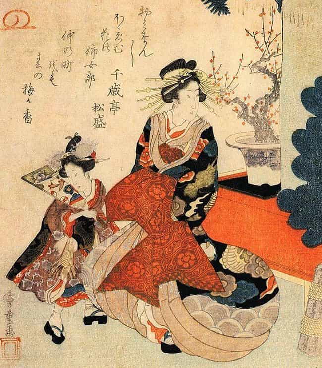 A Courtesan-In-Training's ... is listed (or ranked) 1 on the list Japanese Sex Workers In Edo-Era Japan Were Considered To Be The Ideal Types Of Women