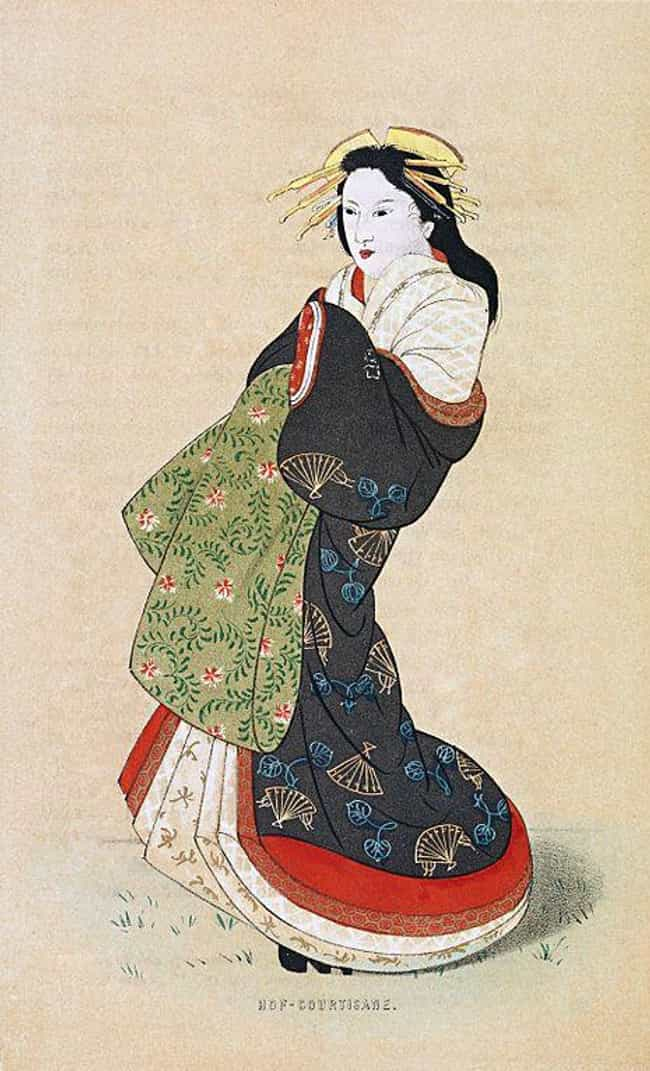 Courtesans Were Just As Suscep... is listed (or ranked) 3 on the list Japanese Sex Workers In Edo-Era Japan Were Considered To Be The Ideal Types Of Women